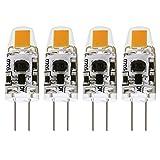 Tools & Hardware : Albrillo G4 LED Bulb Dimmable 1.5W, 20 Watt Halogen Bulbs Equivalent, AC DC 12V, Warm White, 4 Pack