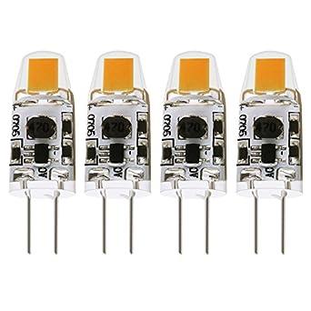 albrillo g4 led bulb dimmable 1 5w 20 watt halogen bulbs equivalent ac dc 12v warm white 4. Black Bedroom Furniture Sets. Home Design Ideas