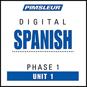 Spanish Phase 1, Unit 01 Audiobook