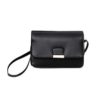 5040eb988e ... COOKI Womens Purses and Handbags Ladies Fashion PU Leather Simple  Crossbody Handbags Designer Satchel Tote Bag  Simple Style Women Messenger  ...