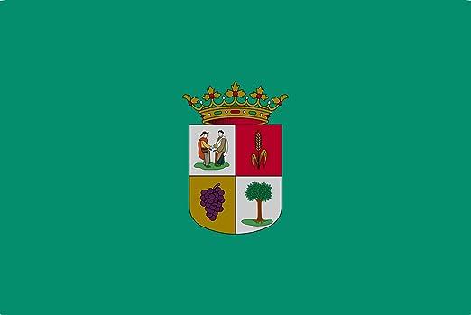magFlags Bandera XL Municipio de La Robla León, España | Bandera Paisaje | 2.16m² | 120x180cm: Amazon.es: Jardín