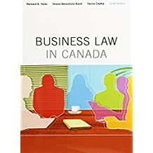 Business Law in Canada, Tenth Canadian Edition, Loose Leaf Version: (10th Edition)
