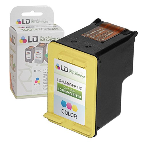 LD Remanufactured Replacement Ink Cartridge for Hewlett Packard CB304AN (HP 110) Tri-Color