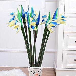 Angel3292 1Pc Artificial Calla Lily Silk Flower Bridal Bouquet Wedding Home Romantic Decor 2