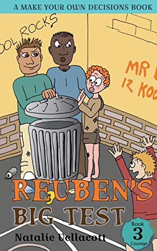 Reuben's Big Test: A Make Your Own Decisions Book (The Adventures of Reuben Sense 3) by [Vellacott, Natalie]