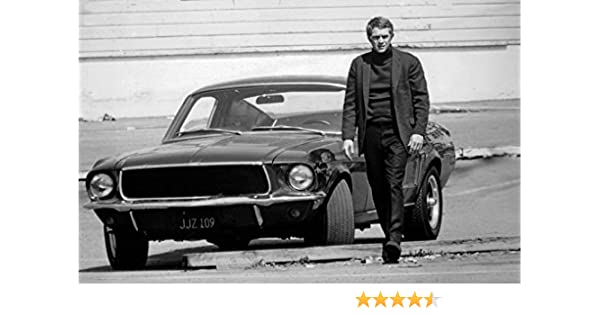 Historical Photo Collection 8 X 10 Photo Steve Mcqueen Lost Bullitt Mustang Car 2 On High Qquality Fiji Film Paper Kitchen 0746477778317 Amazon Com Books
