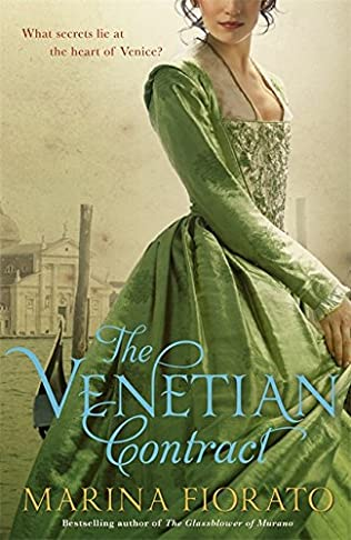 book cover of The Venetian Contract