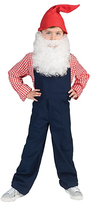 Thematys Weisser Weihnachtsmann Zwergen Bart Zum Ankleben Kostum