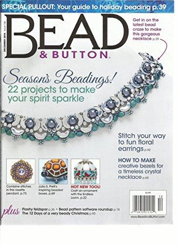 Button Magazine - BEAD & BUTTON MAGAZINE DECEMBER 2016 ISSUE,136