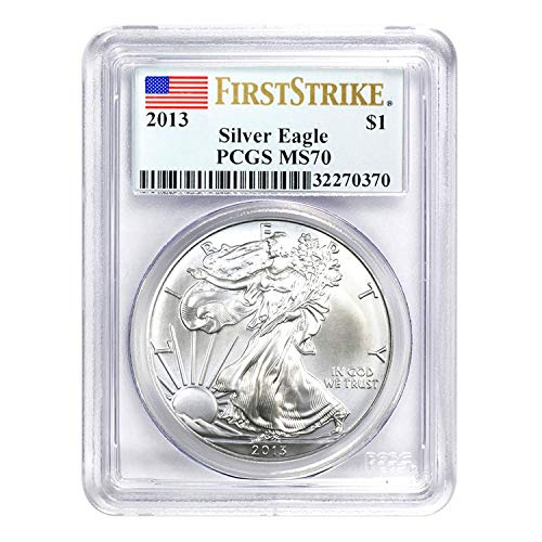 2013 American Silver Eagle First Strike $1 MS-70 PCGS