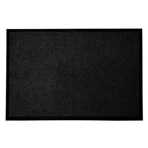 "casa pura Entrance Floor Mat, Black, 36"" x 48"" 