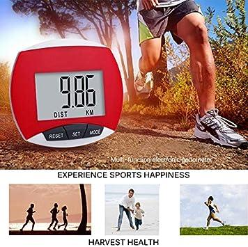 Mini-Sport-Fitness-Schrittz/ähler f/ür Outdoor-Walking Laufen Wandern Houkiper Multifunktions-Schrittz/ähler