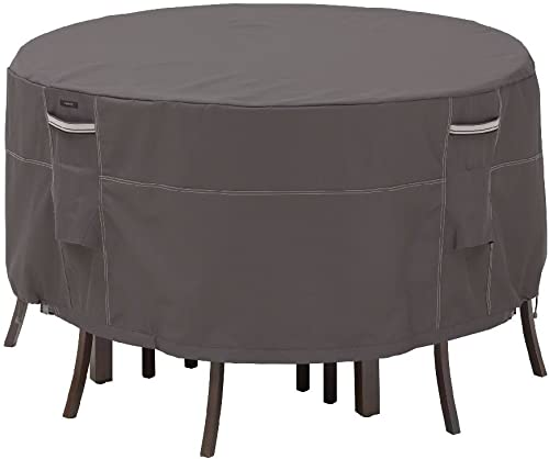 Classic Accessories 55-186-015101-EC Ravenna Patio Bistro Set Table and Chair Cover