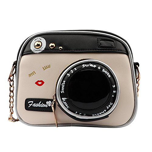 Crossbody Bags, Dream Room Women Vintage Fashion Camera Shoulder Bag Lady Chain Messenger Bag