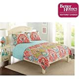 Better Homes and Gardens Quilt Collection, Jeweled Damask Fulll/Queen