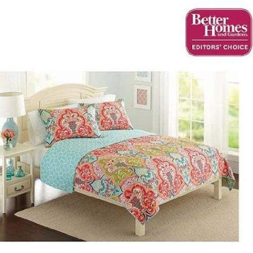 (Better Homes and Gardens Quilt Collection, Jeweled Damask)