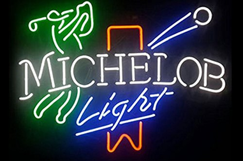 michelob-golf-neon-sign-neon-light-sign-handicrafted-real-glass-tube19x15-the-fastest-free-shipping