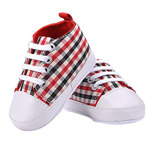 Sanwood Baby Kids Boys Girls Toddler Canvas Shoes