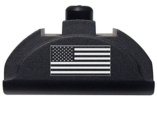 Fixxxer Gen 4 - 5 Aluminum Grip Frame Plug for Glock 17 18 19 22 23 24 25 31 32 34 35 37 38 (American Flag) Grip Plugs
