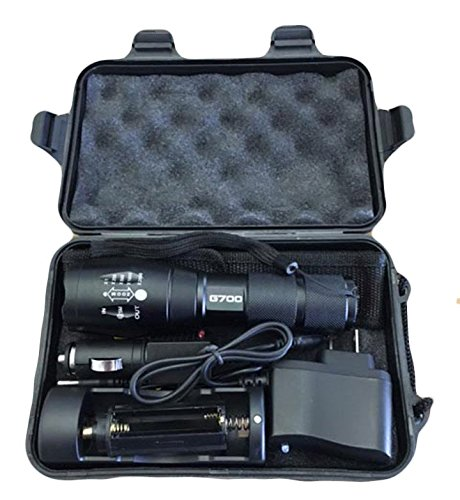 1g Flash (LumiTact All In One G700 Tactical Flashlight)