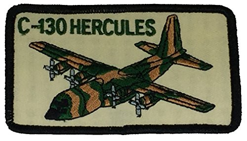 C-130 HERCULES PATCH - Color - Veteran Owned - Aviator Patch