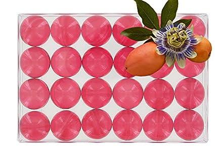 Scatola di 24 perle da bagno traslucide dalla fragranza passion ...
