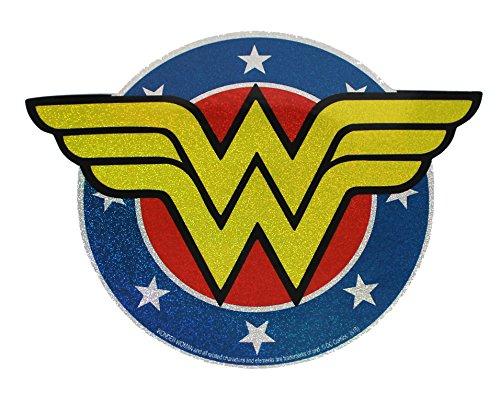 C&D Visionary DC Comics Originals Wonder Woman Shield Glitter Sticker