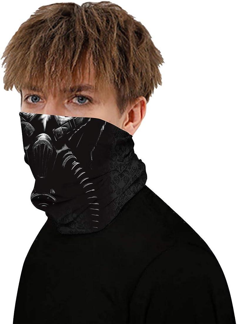 Helmet Liner for Women Men Fashion Face Cover Bandanas Sports /& Casual Headwear Seamless Neck Gaiter Balaclava Headwrap