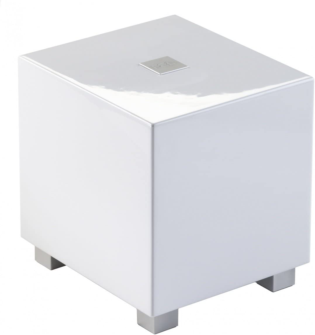 REL – T-Zero – 6.5 Powered Subwoofer High Gloss White