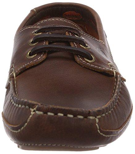 Dockers by Gerli 36HV003-140300 - mocasines de cuero hombre marrón - Braun (braun 300)
