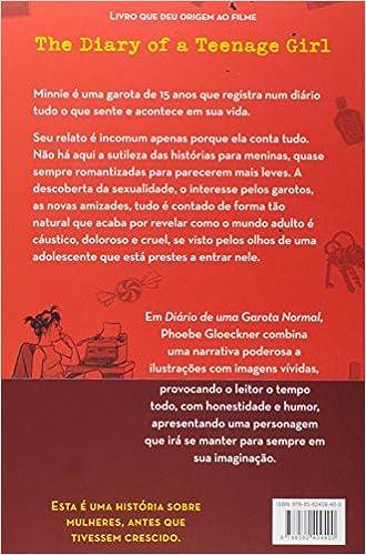 O Diário de Uma Garota Normal. Um Relato em Palavras e Imagens (Em Portuguese do Brasil): Phoebe Gloeckner: 9788562409400: Amazon.com: Books