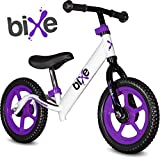 Toys : Bixe Extreme Light (4 lb) Purple Balance Bike For Kids and Toddlers 18 Months to 5 Years