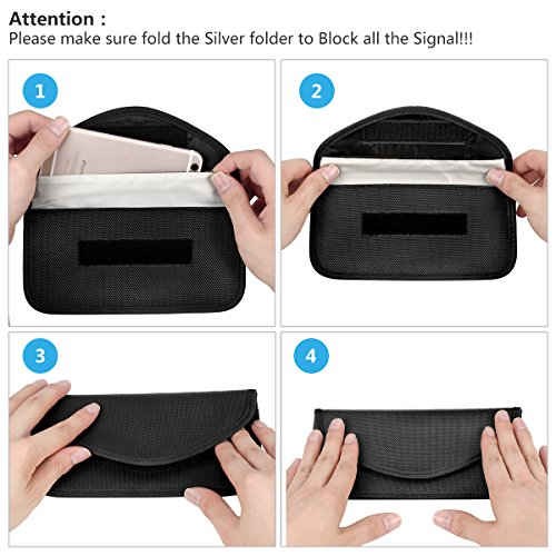 Anti-radiation Bag Anti-tracking Pouch EMF Protection for