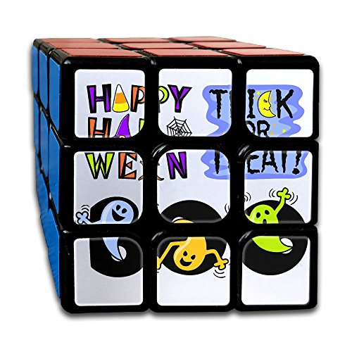 Halloween Clipart Speed Cube Puzzle Brain Training Game Match Puzzle Toy For Kids Or Adults Speed Cube Stickerless Magic Cube (Halloween Clipart Witch)