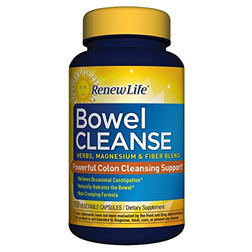Renew Life - Organic Bowel Cleanse -  colon cleanse  150 vegetable capsules ()