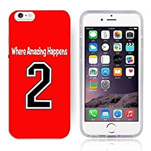GXFC Case Unique Design Basketball Sportsman Uniform Where Amazing Happens 2 Pattern HD Durable Hard Plastic Case Cover for iphone 6(4.7 Inch) by ruishername