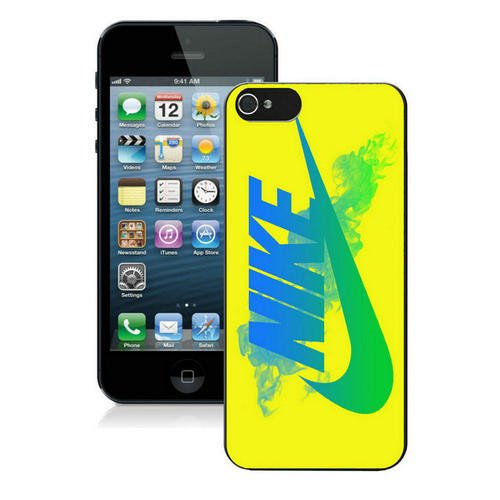 pvmeche Just Do it Nike logo image Custom iphone 5 5S SE TPU Individualized Hard Case black rob style che18007b