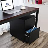 SONGMICS Steel File Cabinet 3 Drawer with Lock