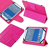 Universal 7 Inch All Models Tablet Pc Case (7pk) New Design , Ultra Slim , Low Weight and Fashionable (Only 7 Inch) Fits Xo 7-inch Kids Tablet Xo-880 / Xo-780 (Pink)