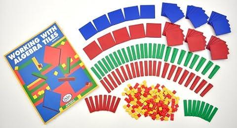 Assessment Services, Inc. - Algebra Tiles Class Set (200-0815) - Algebra Tiles Student Set