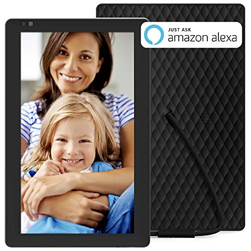 - Nixplay Seed 10.1 Inch Digital WiFi Picture Frame with IPS Display, iPhone & Android App, Free 10GB Online Storage and Motion Sensor (Black) - W10B