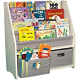 WonkaWoo Deluxe Childrens Sling Bookshelf