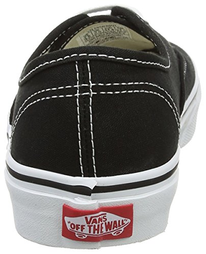 Vans Authentic, Zapatillas Unisex Niños Negro (Black/True Whit 6BT)