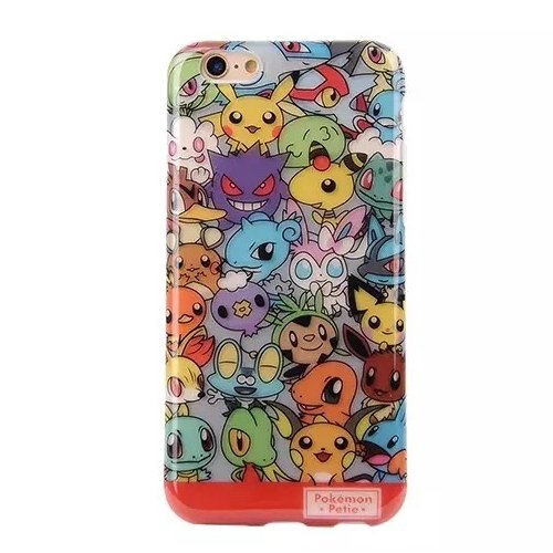 "Phone Case iPhone 6 Plus 6s Plus Case (5.5""), Pokemon Go Collection High Quality TPU Soft phone Case Cover For iPhone 6 5.5"" No. 3"