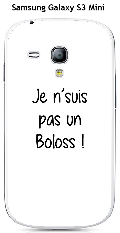 Onozo Carcasa con Cita Boloss para Samsung Galaxy S3 Mini ...