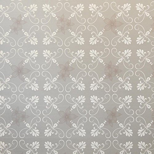 Color Flower Decorative Window Film Series 1, 18 inches by 72 inches