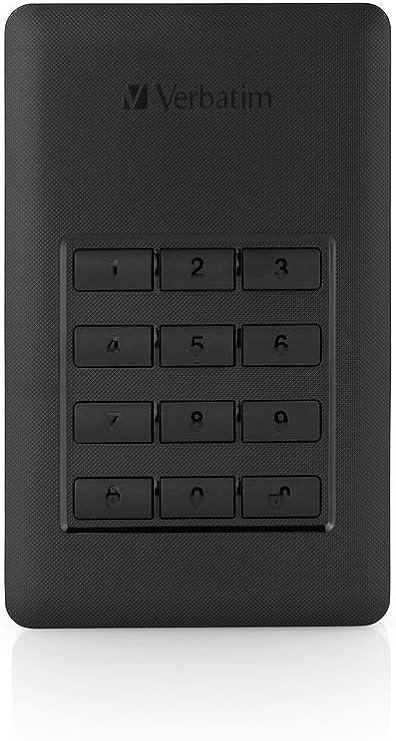 Verbatim Store N Go Secure Portable I 1 Tb I Schwarz Computer Zubehör