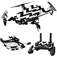 MightySkins Skin for DJI Mavic Air Drone - Black Chevron | Max Combo Protective, Durable, and Unique Vinyl Decal wrap cover | Easy To Apply, Remove, and Change Styles | Made in the USA
