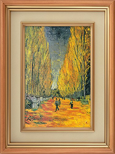 Creative 3D Visual Effect Wall Mural Les Alyscamps by Vincent Van Gogh Peel Stick Wall Decor