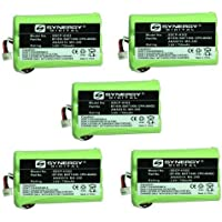 NEC Dterm Cordless Phone Battery Combo-Pack includes: 5 x SDCP-H302 Batteries